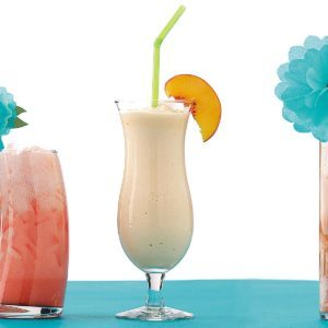 Thick Peachy Milk Shakes