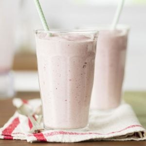 Thick Strawberry Shakes