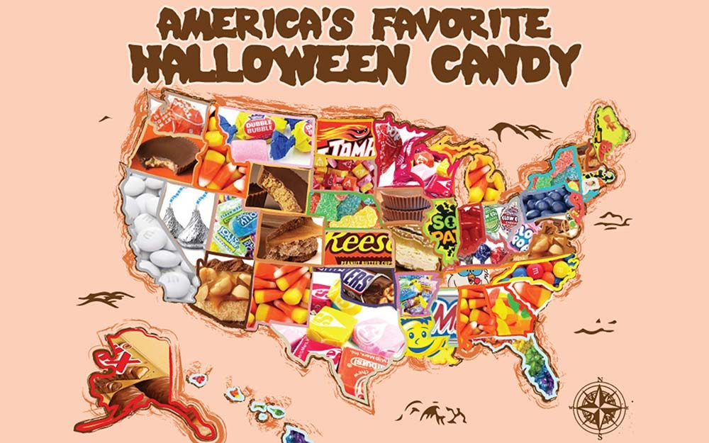 This Map Shows the Most Popular Halloween Candy in Your State ...