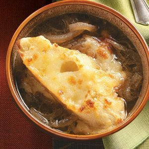 Three-Cheese French Onion Soup
