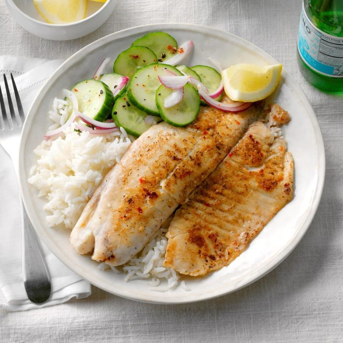 Day 15: Tilapia with Jasmine Rice