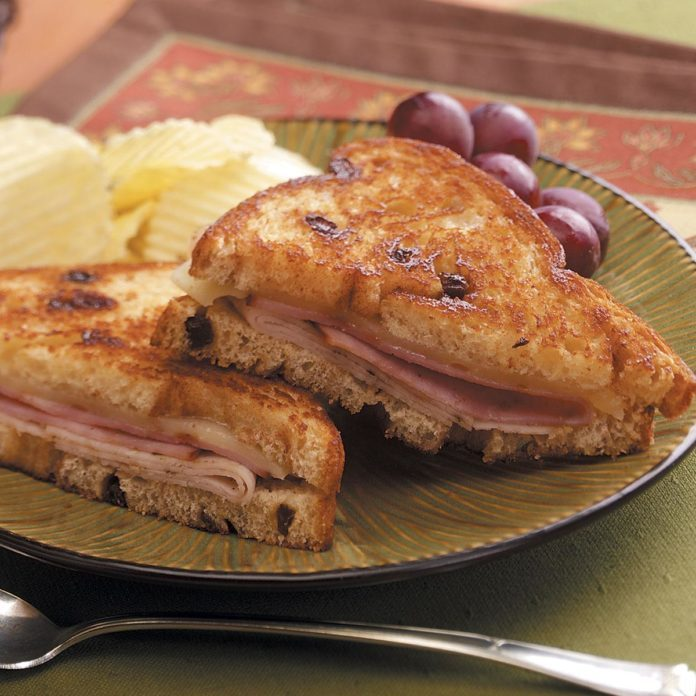 Toasted Deli Sandwich with a Twist