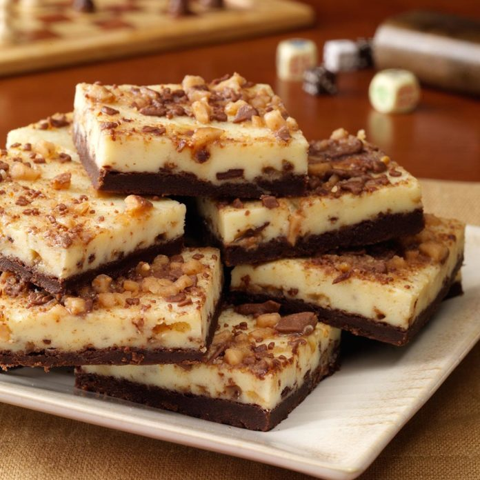 Utah: Toffee Cheesecake Bars
