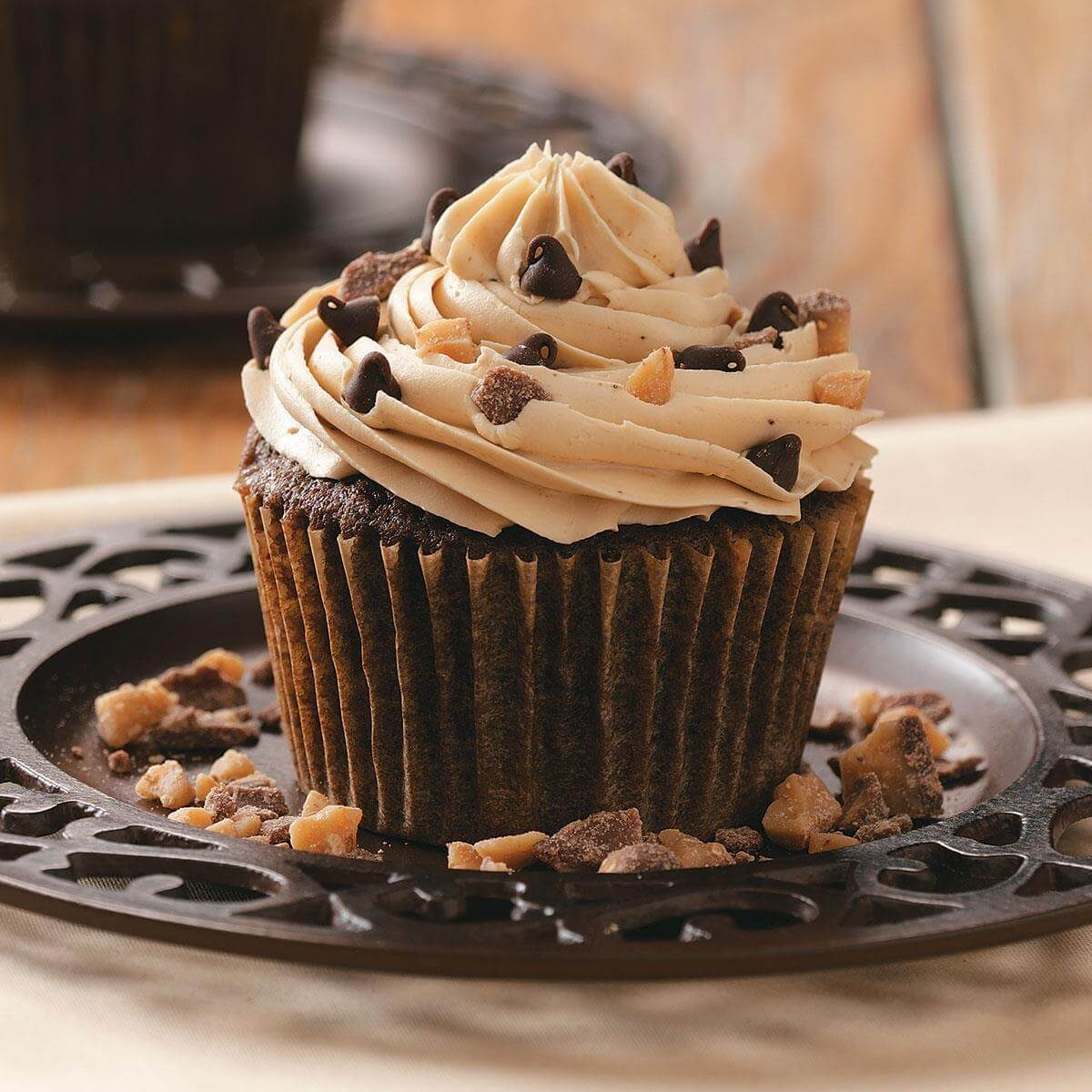 Toffee Mocha Cupcakes Recipe Taste Of Home