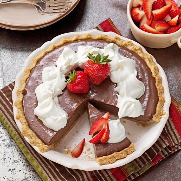 Tofu: Chocolate Pie