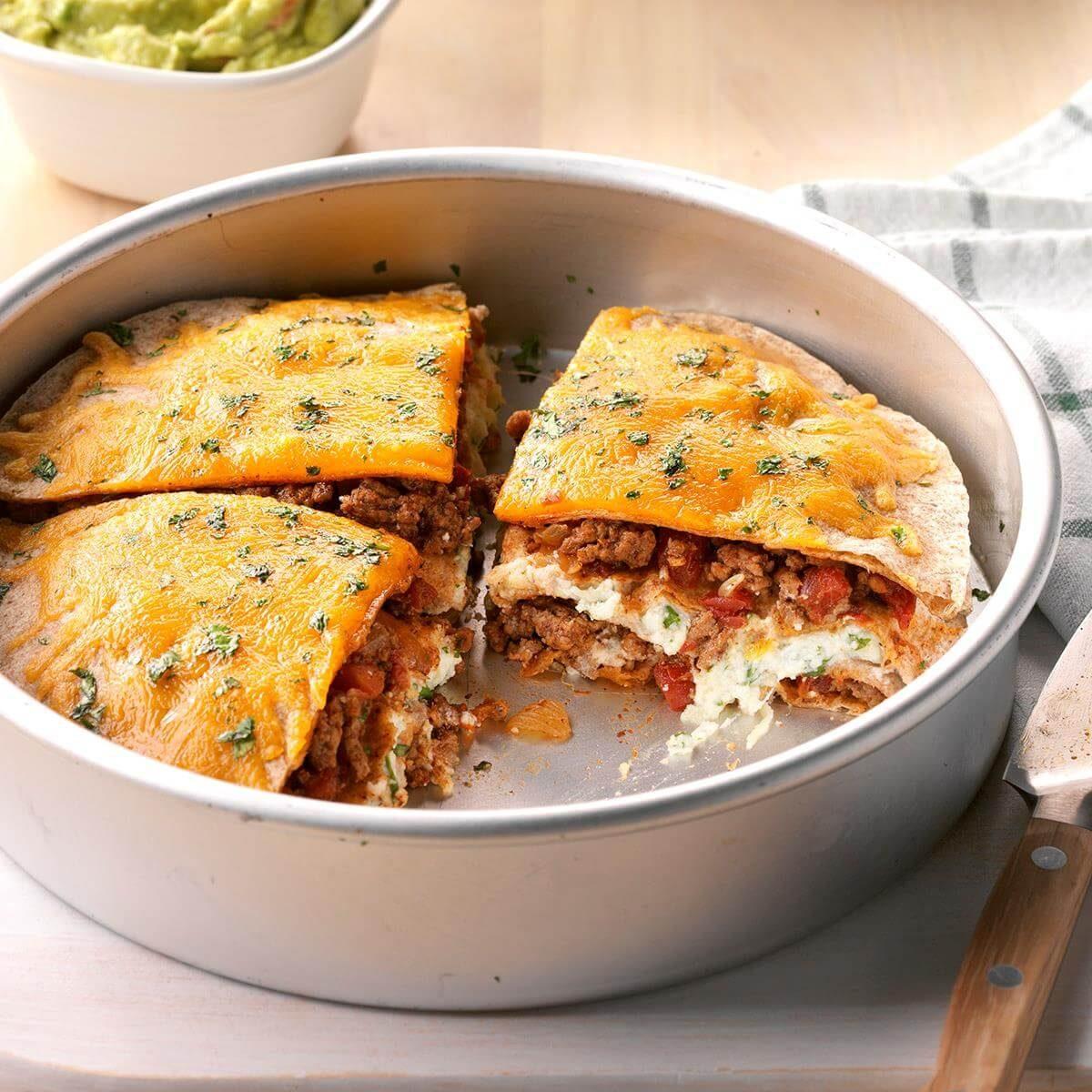 Tortilla Pie Recipe Taste Of Home