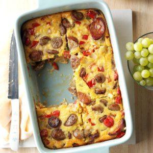 Triple Sausage Breakfast Bake