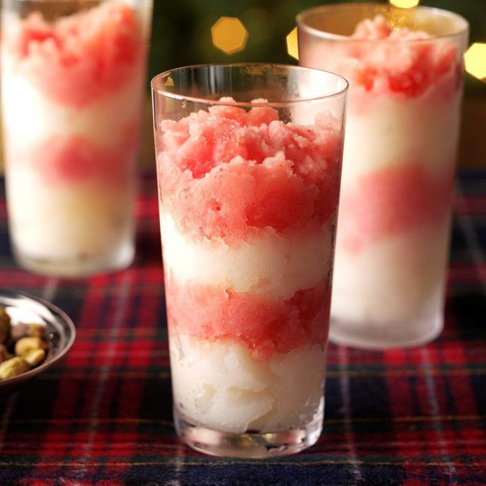 Tropical Candy Cane Freeze