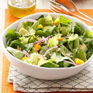 Tropical Snap Pea & Mango Salad