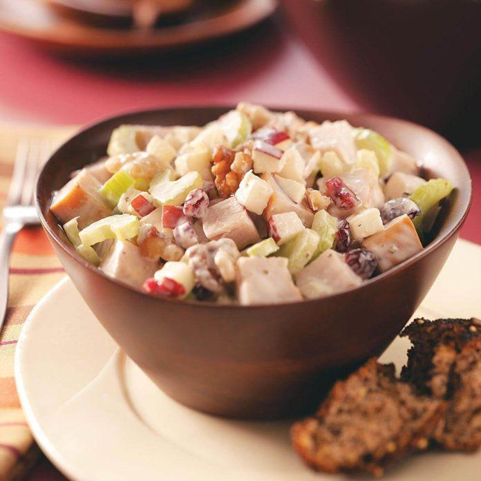Turkey and Fruit Salad