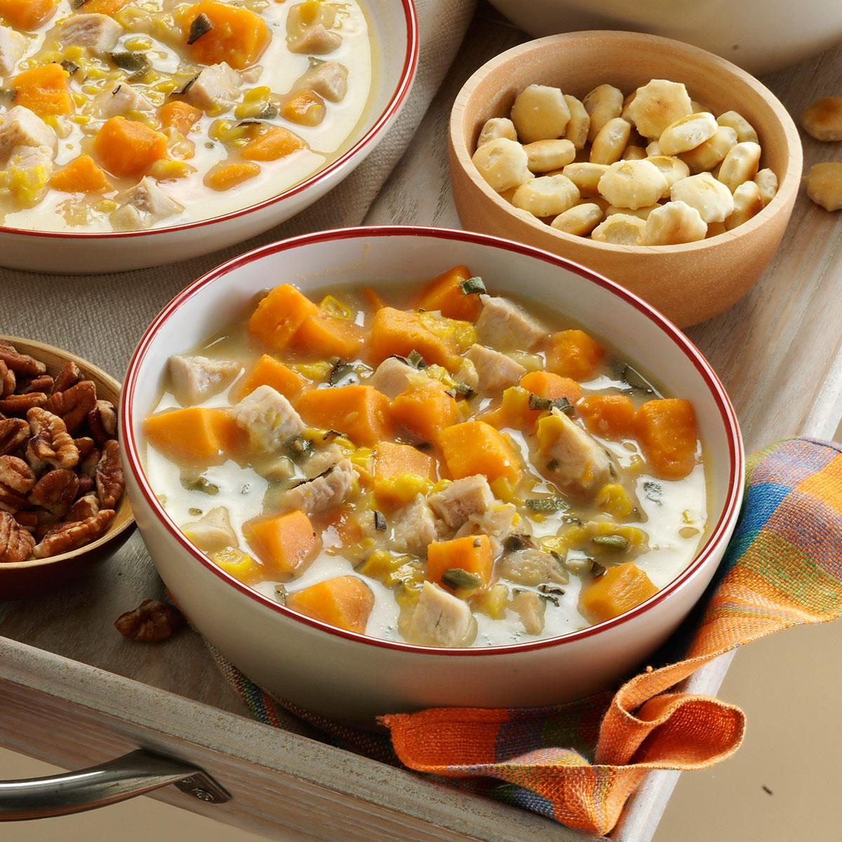 Turkey Sweet Potato Soup Recipe Taste Of Home