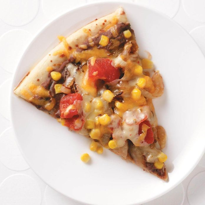 Two-Bean Veggie Pizza