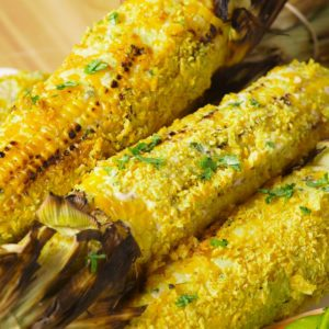 Watch Us Make: Chip-Crusted Grilled Corn
