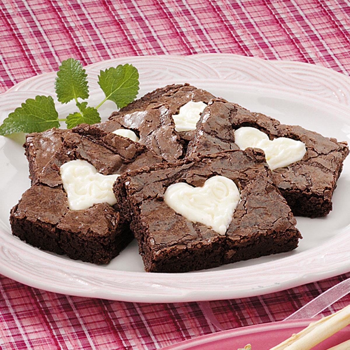 valentine brownies recipe taste of home
