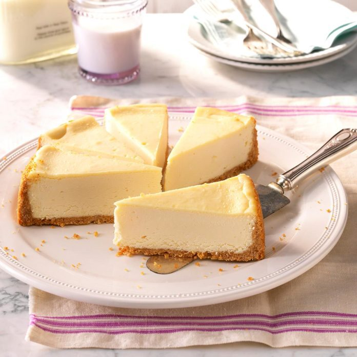 Inspired by: Vanilla Bean Cheesecake