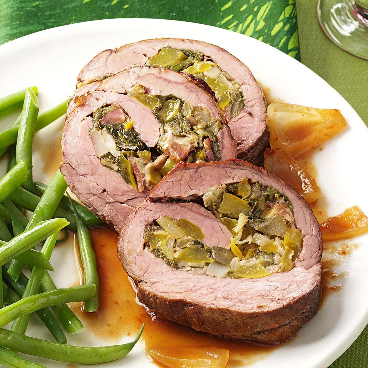 Vegetable Stuffed Flank Steak Recipe Taste Of Home