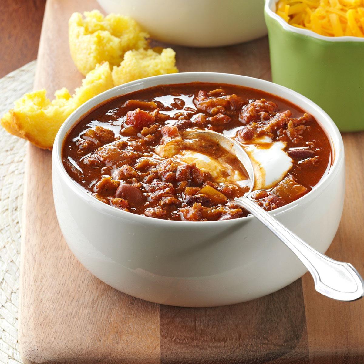 Vegetarian Red Bean Chili Recipe