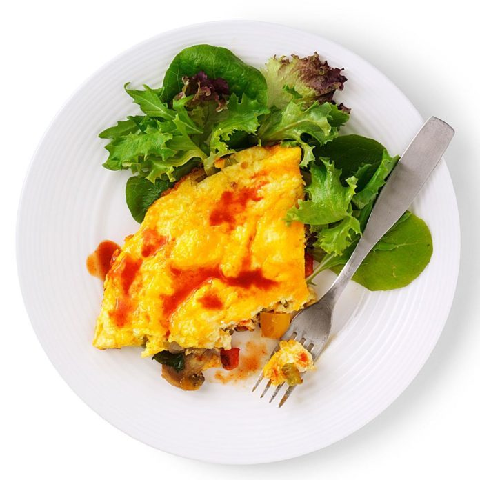 Wednesday's Breakfast: Very Veggie Frittata