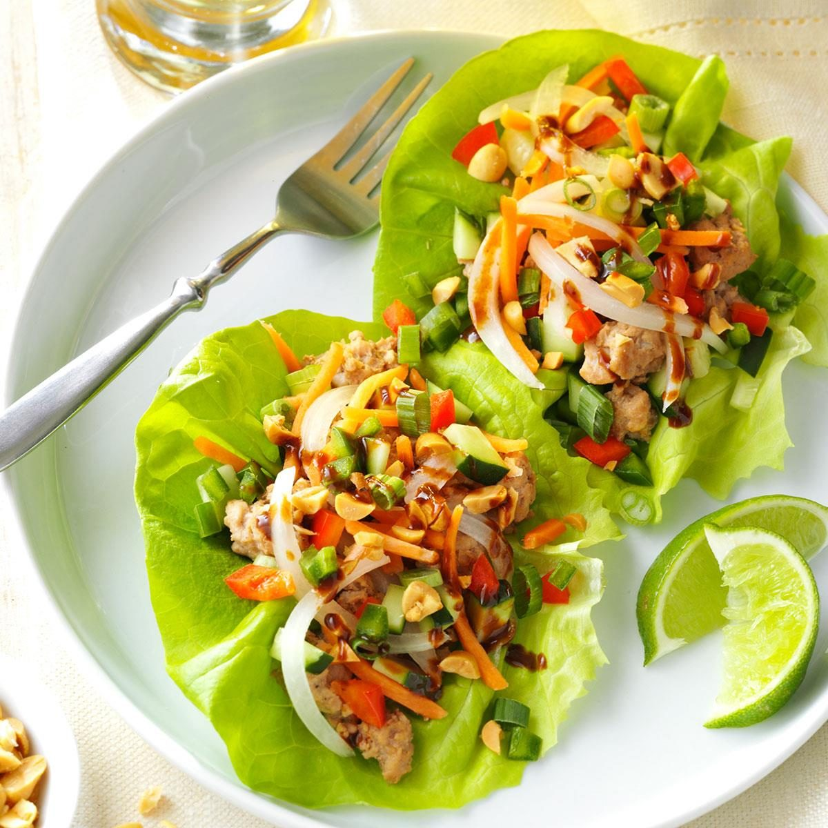 Vietnamese-Style Lettuce Cups