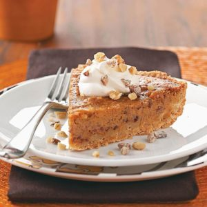 Walnut-Date Pumpkin Pie