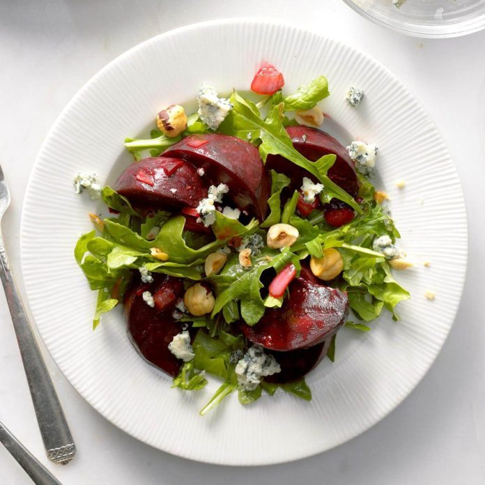 Warm Roasted Beet Salad