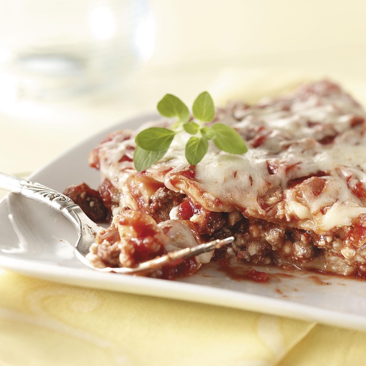 Weekday Lasagna Recipe