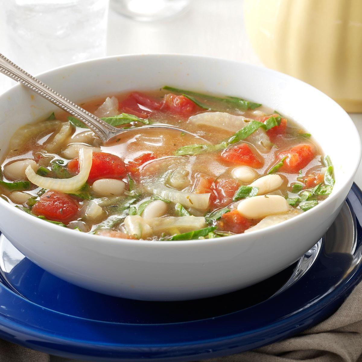 White Bean Fennel Soup Recipe