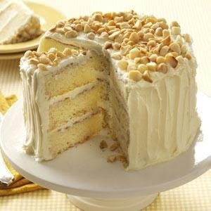 White Chocolate-Coconut Layer Cake