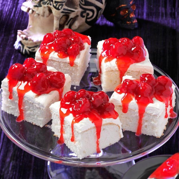 White Fright Cake