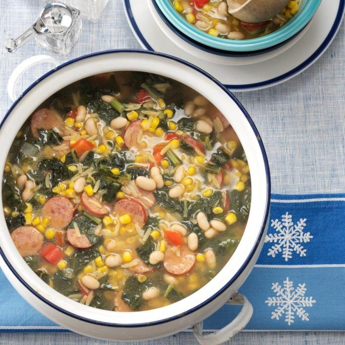 Maryland: Winter Country Soup