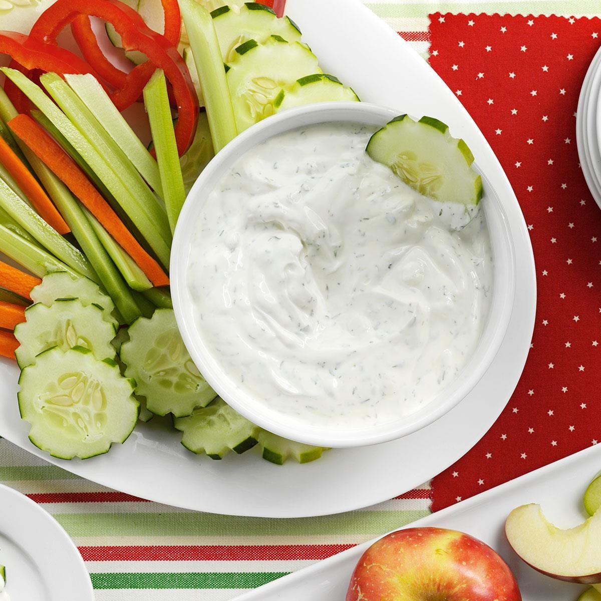 Dill Yogurt Spread