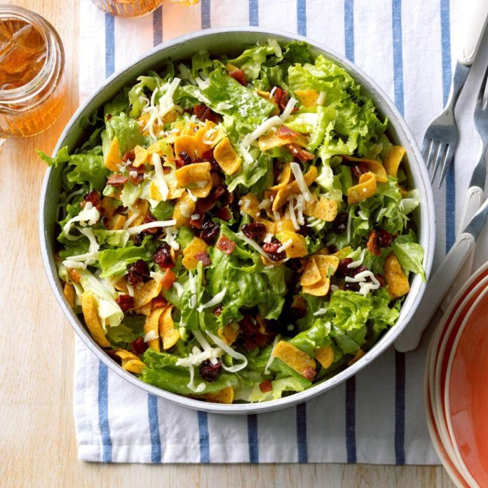 Yummy Corn Chip Salad