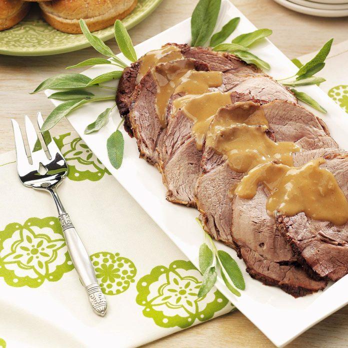 Zesty Beef Roast