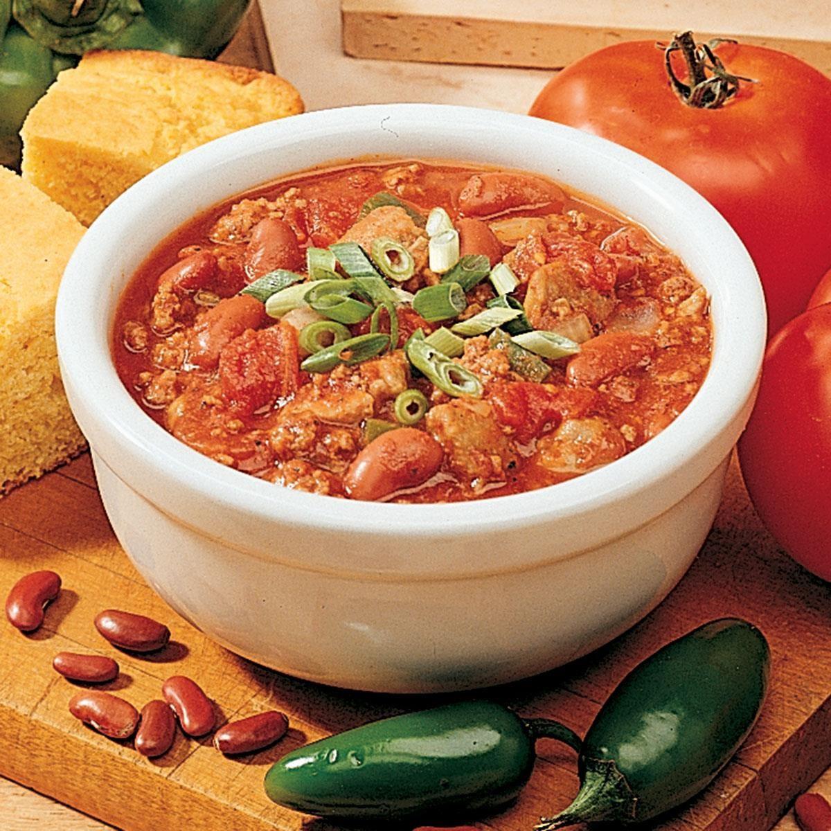 Zesty Colorado Chili Recipe