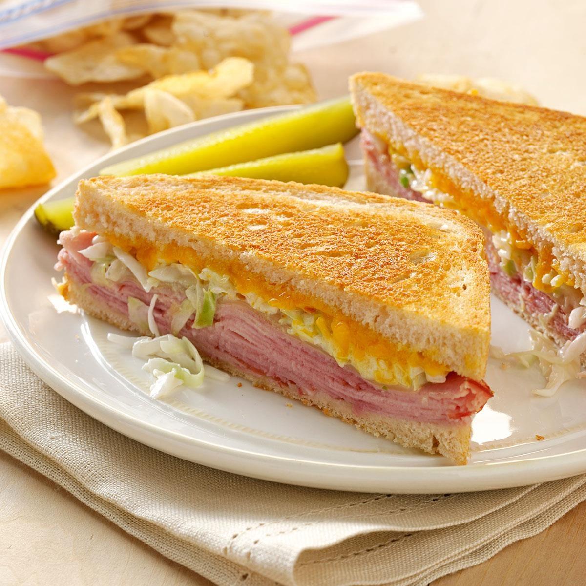 Zesty Grilled Sandwiches Recipe
