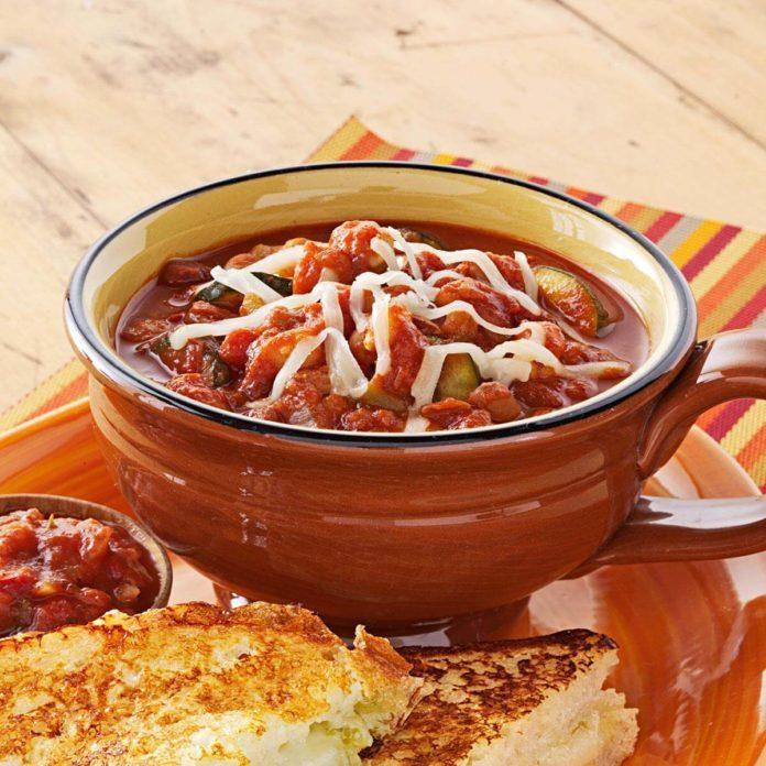 Zippy Vegetarian Chili