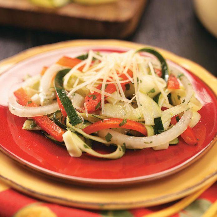 "Zucchini ""Linguine"" Salad"