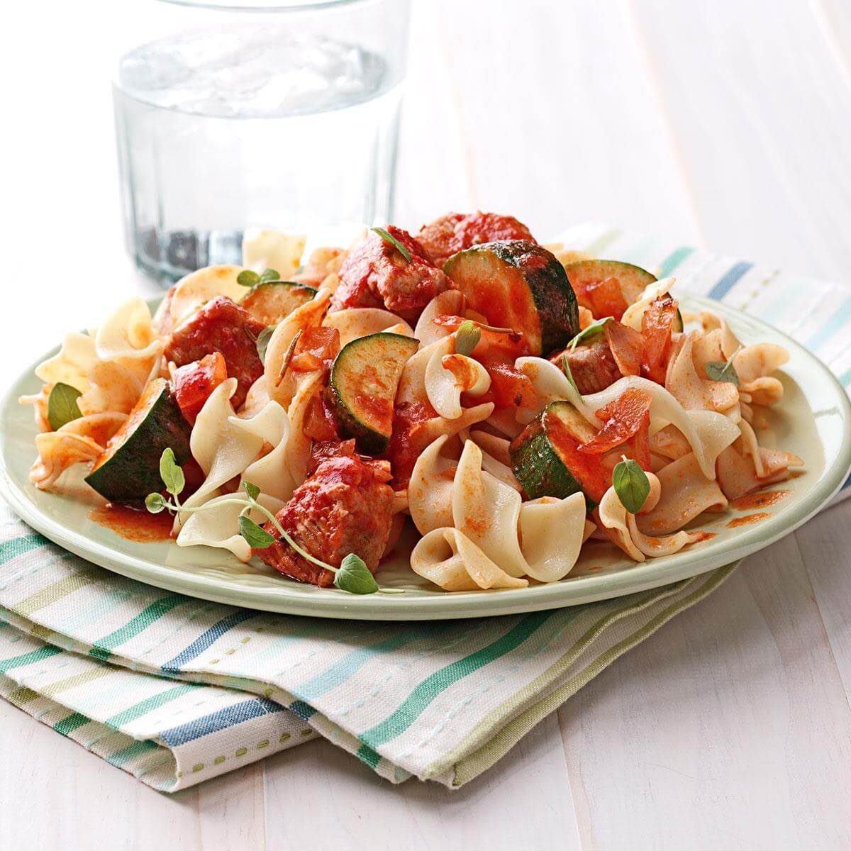 Tasty Dinner Ideas Recipes: Zucchini Pork Dinner Recipe