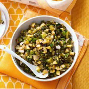 Zucchini Salsa Verde