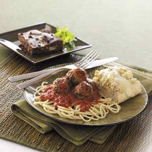 Marinara Turkey Meatballs