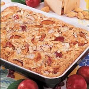 Almond Plum Kuchen