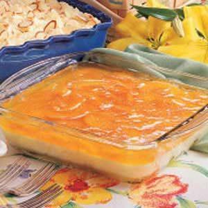 Peaches 'n' Cream Salad