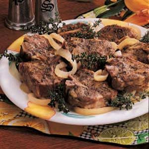 Slow cooked lamb chops recipe taste of home slow cooked lamb chops publicscrutiny Images