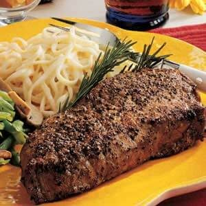 Peppercorn Steaks
