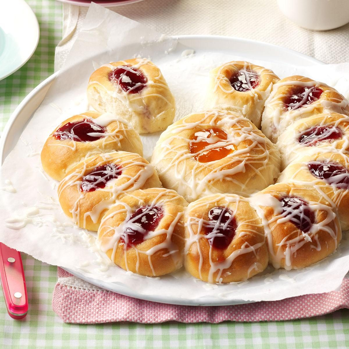 Flower Petal Sweet Rolls Recipe