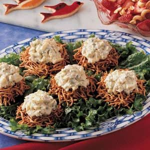 Bird's Nest Egg Salad