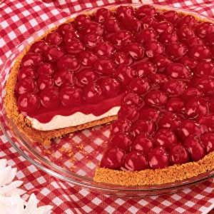 No-Bake Cherry Cheesecake
