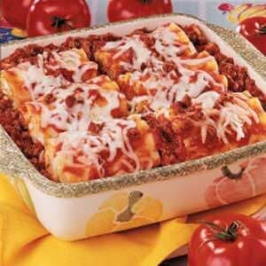 Lasagna Roll Ups Recipe Taste Of Home