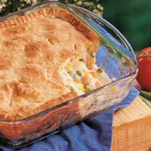 Old-Fashioned Chicken Potpie