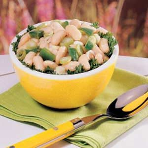 Sweet-Sour Bean Salad
